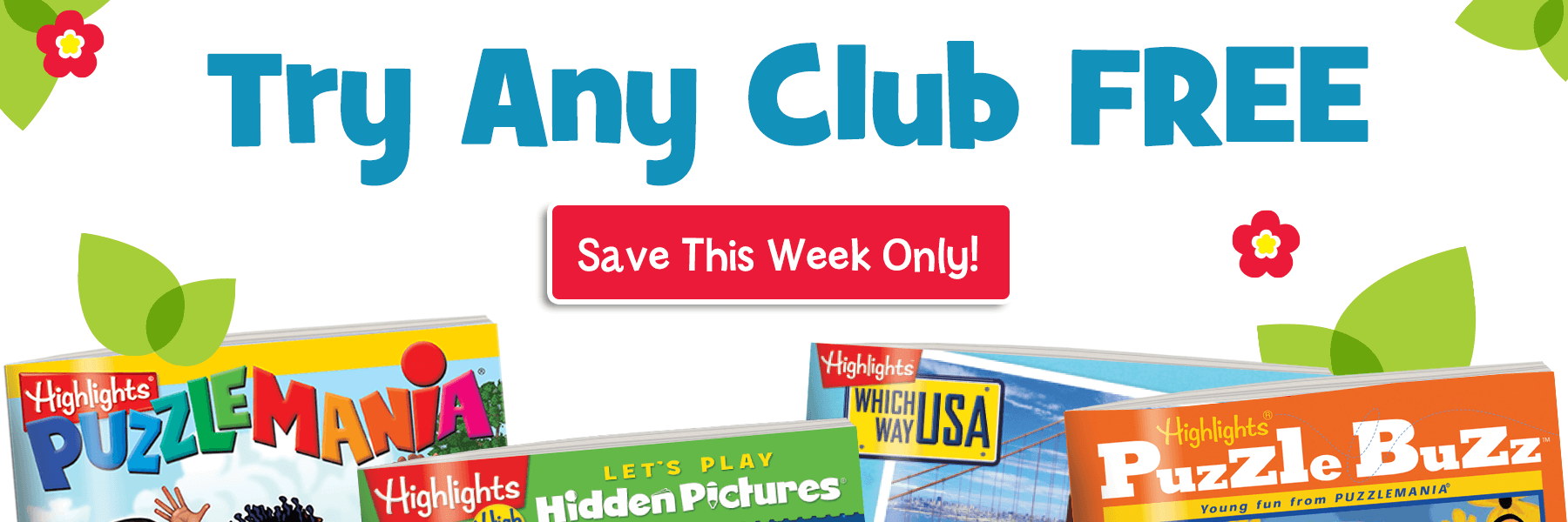 Try any club free this week only