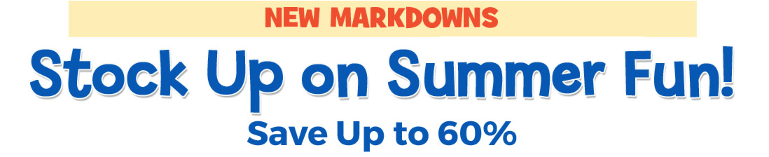 Shop new markdowns and get up to 60% off