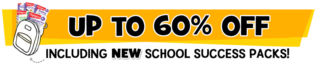Get up to 60% off 100+ items, including new School Success Packs