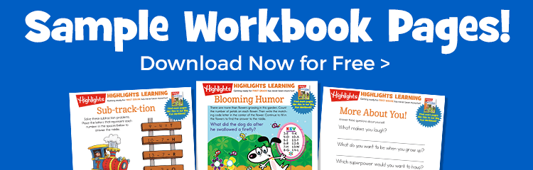 Download free sample workbook pages