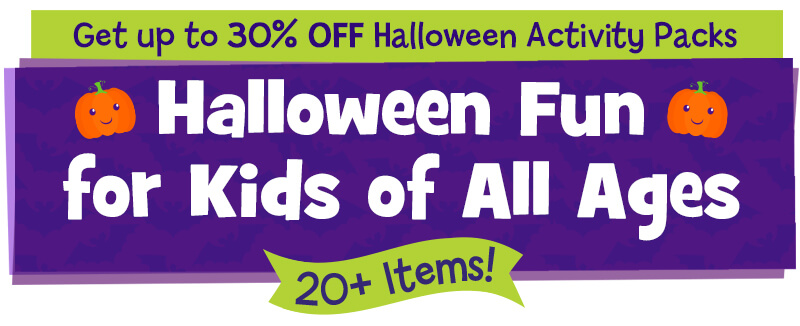 Halloween fun for the whole family now up to 30% OFF