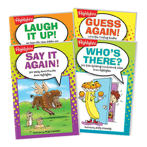 Joke Books 4-Book Set