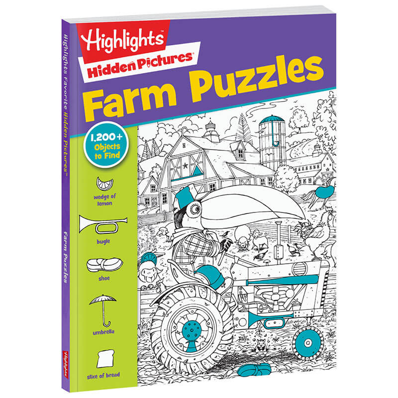 Farm Puzzles Hidden Pictures