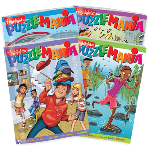 Puzzlemania 4-Book Set