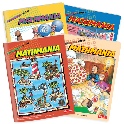 Mathmania 4-Book Set
