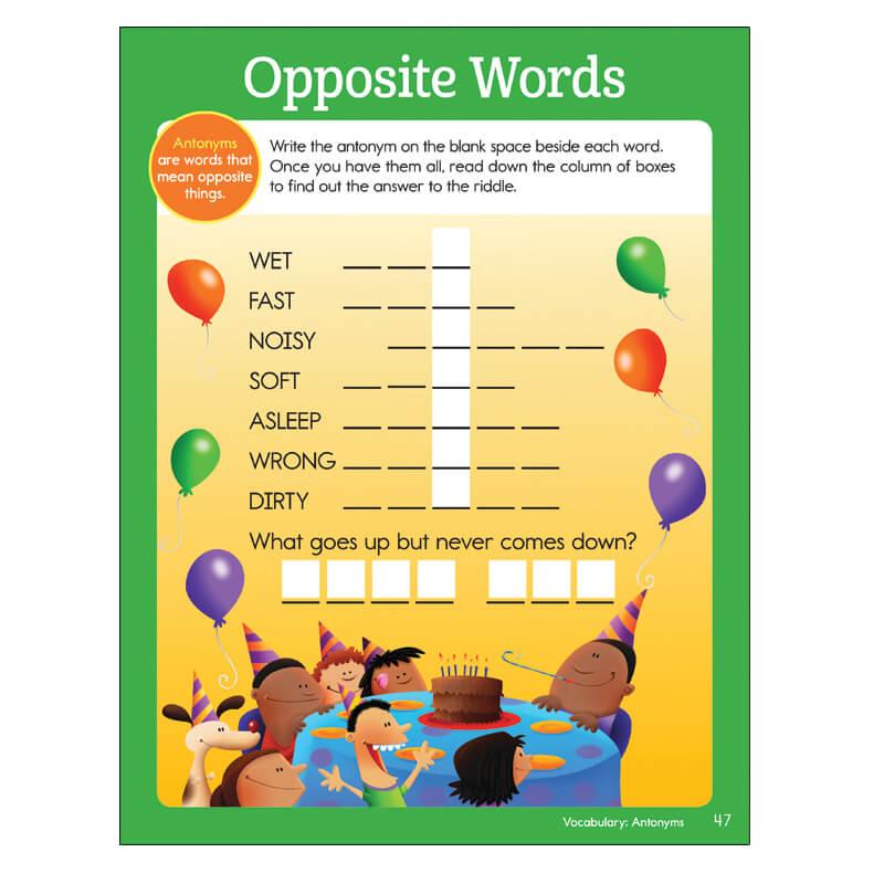 Big Fun Second Grade Workbook | Highlights for Children