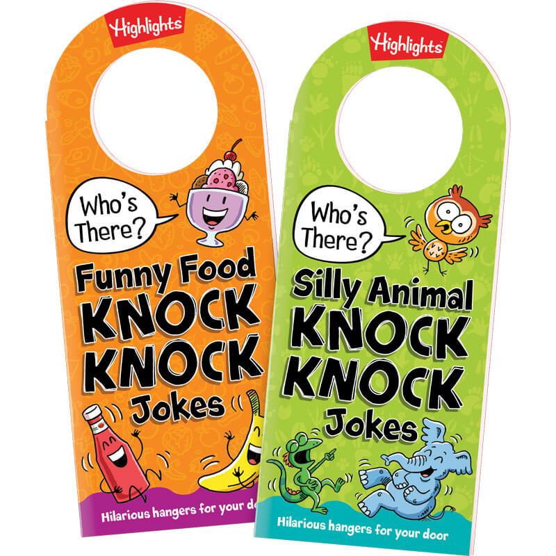 Knock Knock Door Hanger Joke Books, Set of 2 | Highlights
