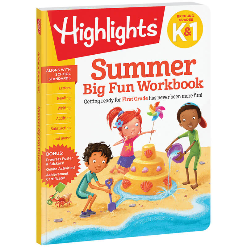 Bridging K and Grade 1 Summer Workbook