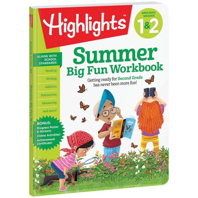 Summer Big Fun Workbook Bridging Grades 1 and 2