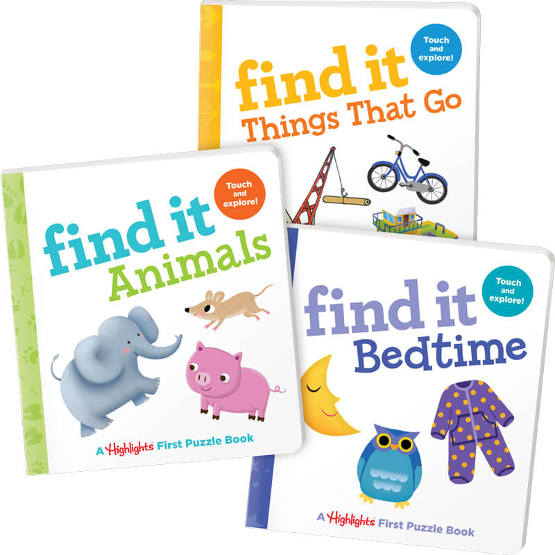 Find It Baby Board Books