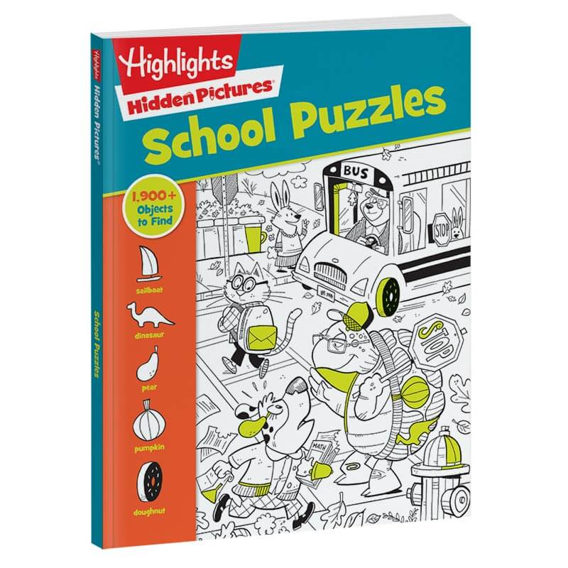 Hidden Pictures School Puzzles Book