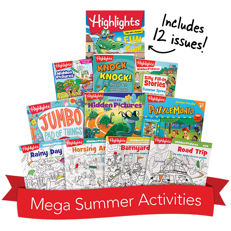 Mega Summer Activity Box