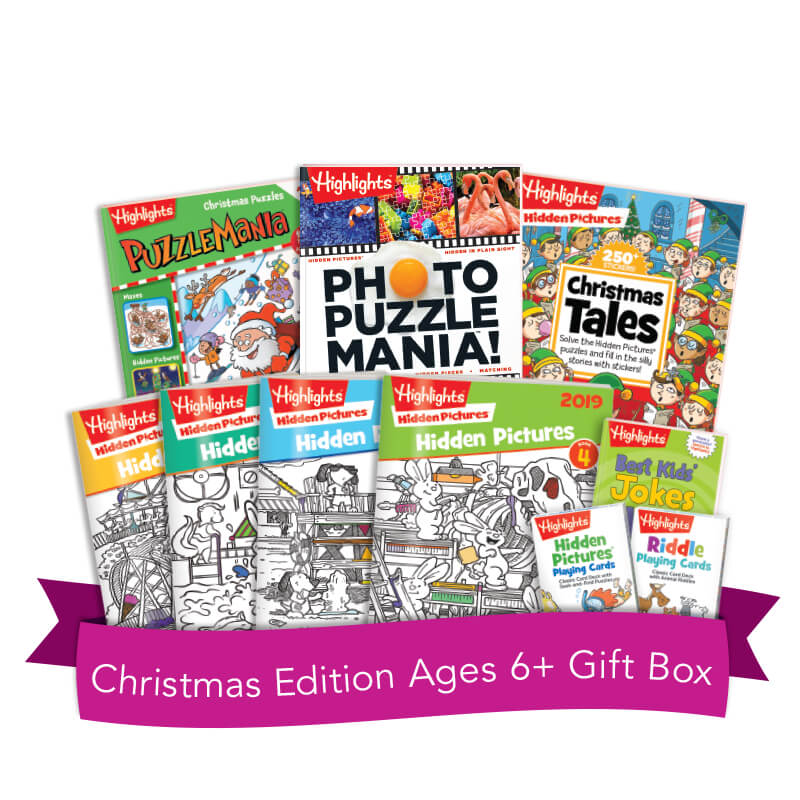 Christmas Edition Ages 6+ Gift Box