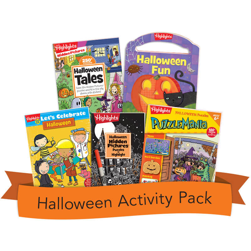 All-Halloween Activity Pack