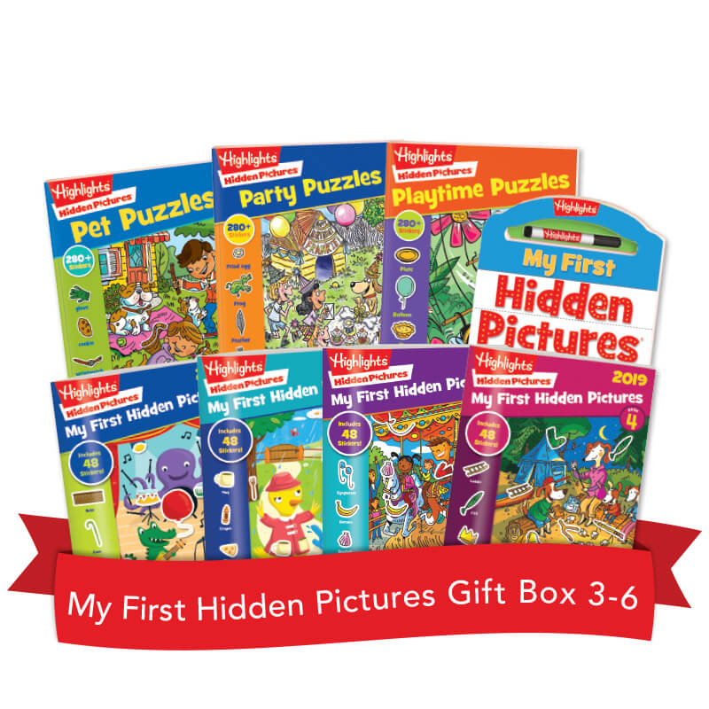 My First Hidden Pictures Gift Box