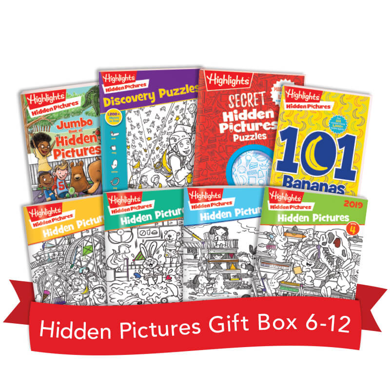 Hidden Pictures Gift Box