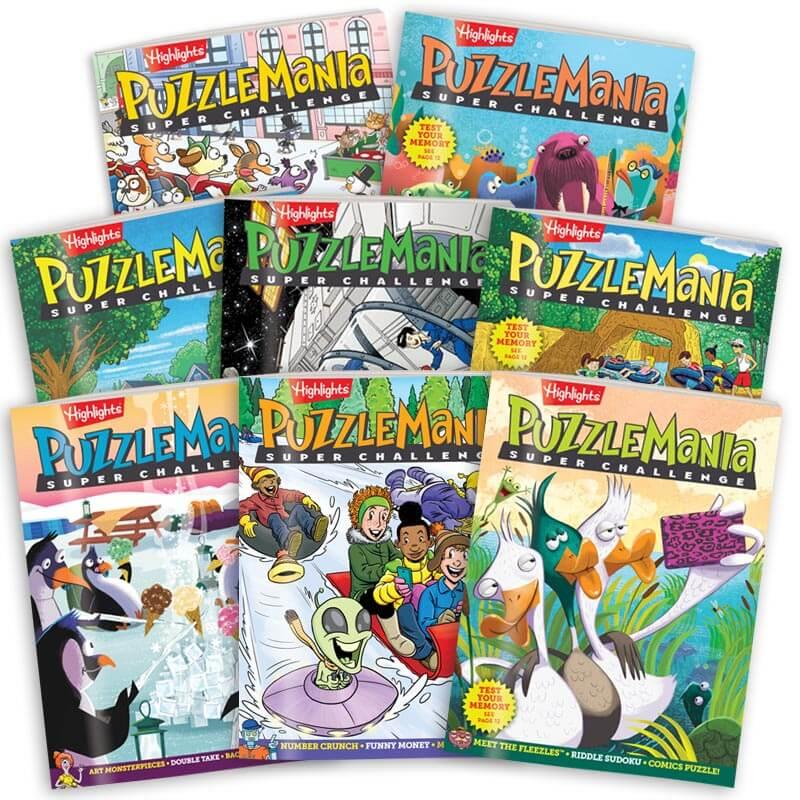 Puzzlemania Super Challenge