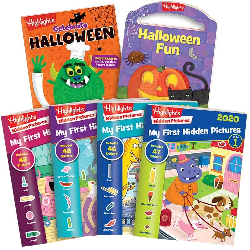 Halloween My First Hidden Pictures Activity Pack