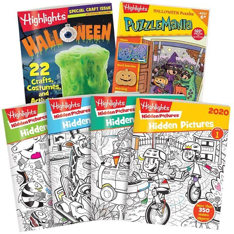 Halloween Hidden Pictures Activity Pack