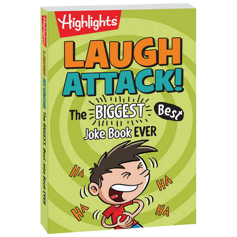 Laugh Attack! The Biggest, Best Joke Book Ever