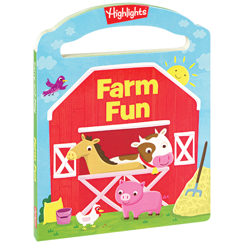 Farm Fun Carry and Play Board Book