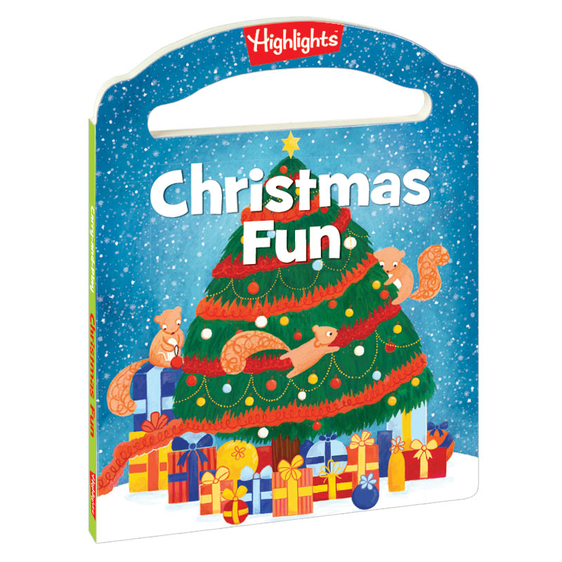 Christmas Fun Carry and Play Board Book