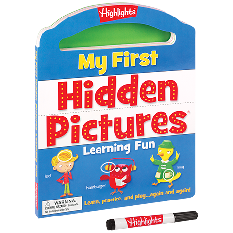 My First Write-On Wipe-Off Board Book: My First Hidden Pictures