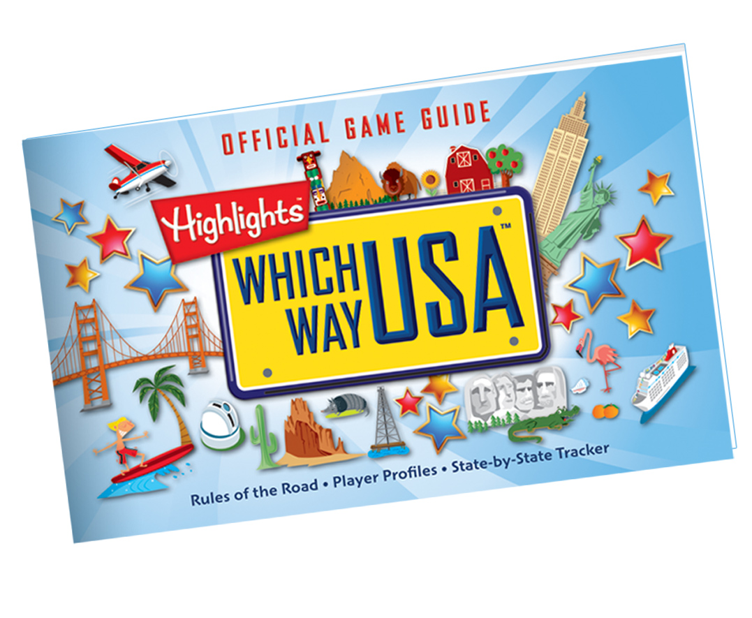 Geography Books For Kids With USA Puzzles Which Way USA - Us map quiz puzzle