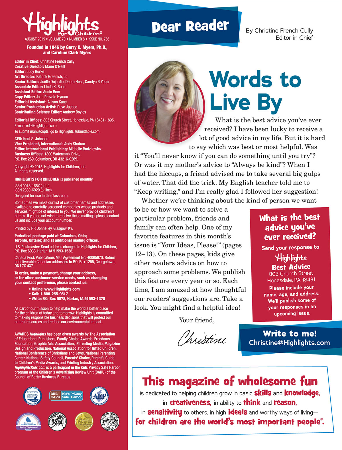 creative writing magazines canada Creative writing writing contests our canada magazine — a reader-written publication produced by reader's digest magazines canada — is launching a.