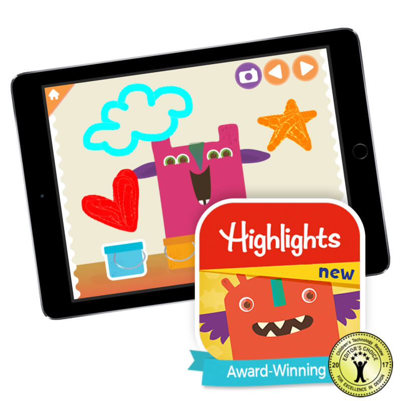 Highlights™ Monster Day App
