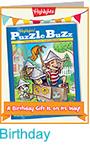 PB Birthday Card