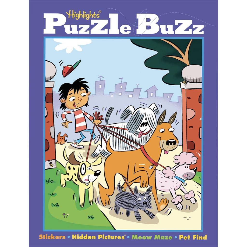 Puzzle Books - Kids Puzzle Books Subscription | Puzzle Buzz