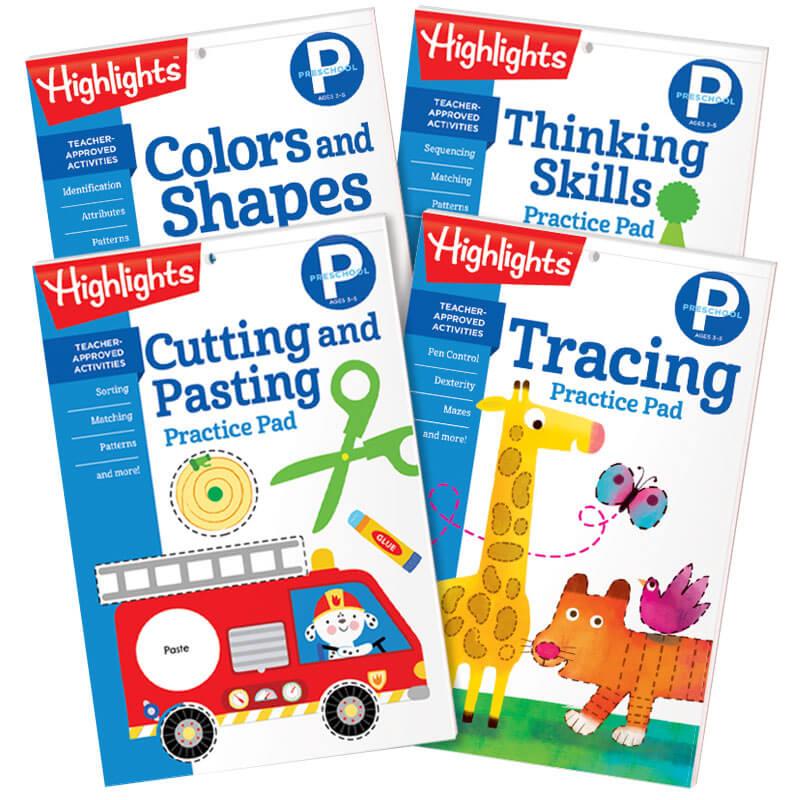 Preschool Learning Practice Pads