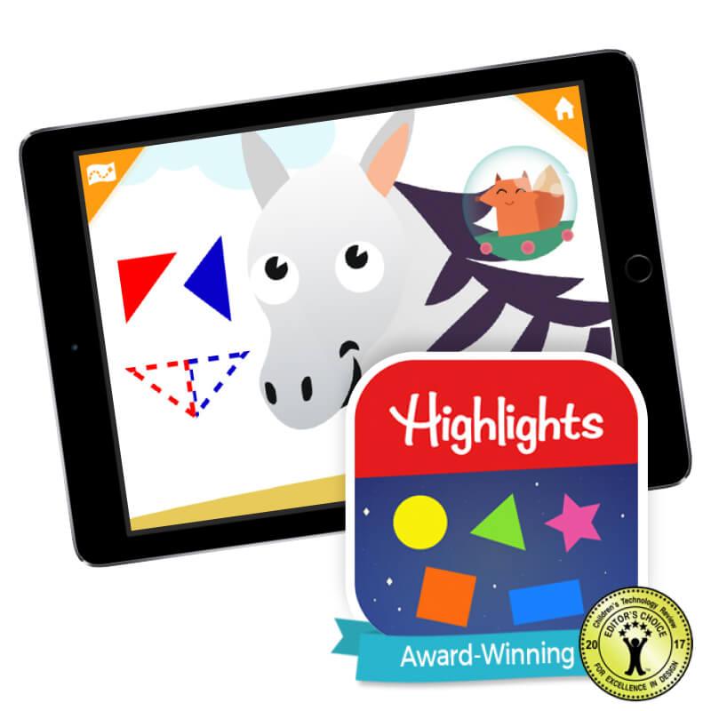 Highlights Shapes App