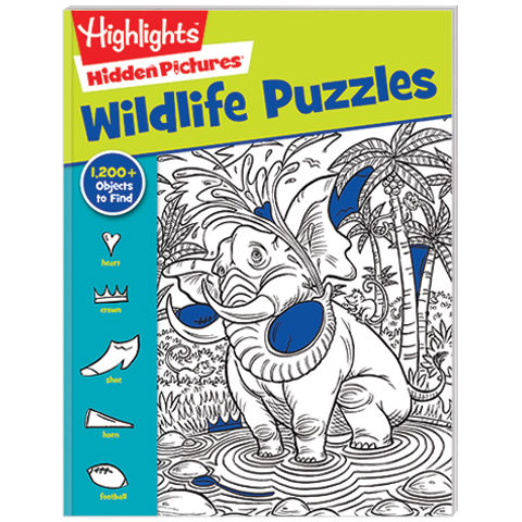 Hidden Pictures Wildlife Puzzles