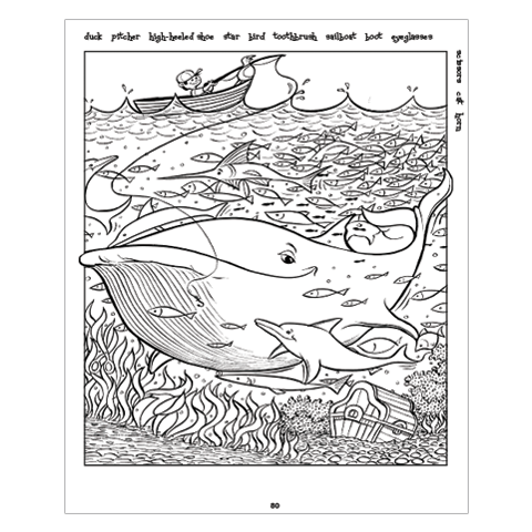 Highlights Hidden Pictures®: A Coloring Book for Grown-Up