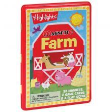 Highlights Magnetic Farm Tin