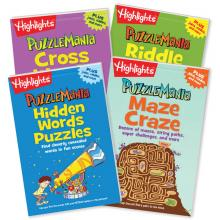 Puzzlemania Puzzle Pads Set of 4, Volume 2