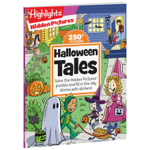 Hidden Pictures Silly Sticker Stories: Halloween Tales