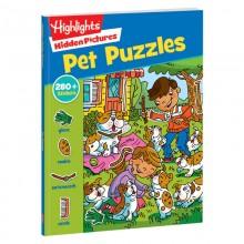Hidden Pictures Stickers Pet Puzzles