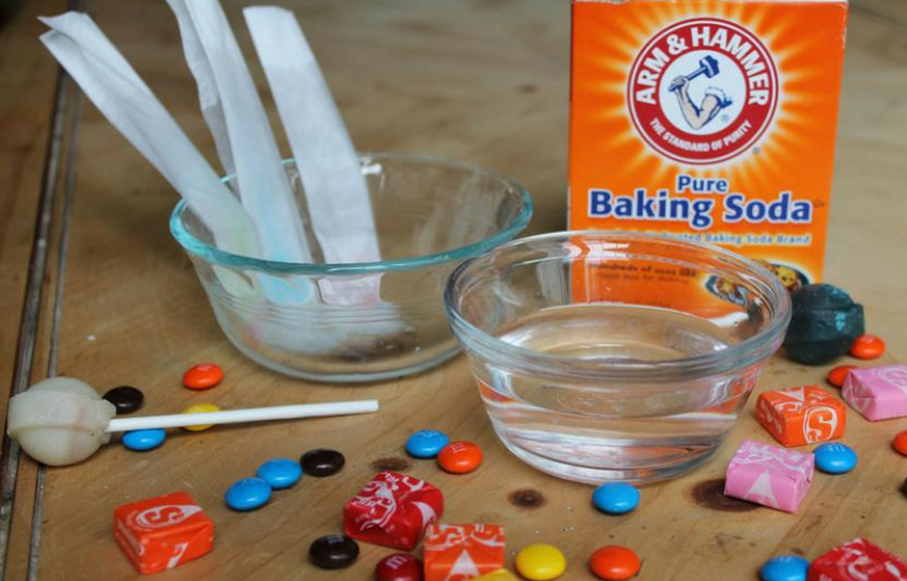 What's really in the sweet treats kids collect at Halloween? With these three simple experiments, your family can uncover some of the ingredients yourselves.