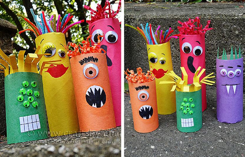 20 Monster Crafts to Make with Your Kids
