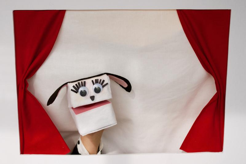 Cute Mini-Cereal Box Puppets