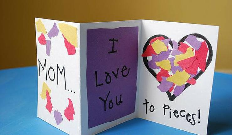 Valentines Cards and Crafts for Kids – Construction Paper Valentine Cards