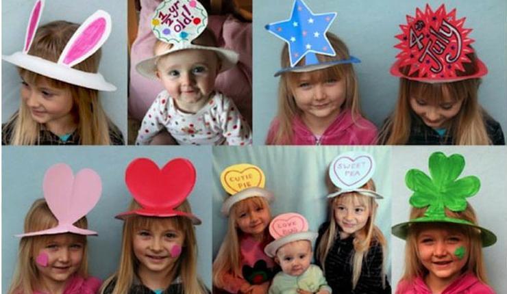 Как из бумаги сделать шляпу для девочки
