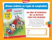 Bilingue printable Spanish