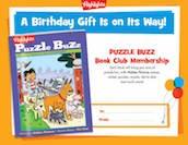 Puzzle Buzz printable