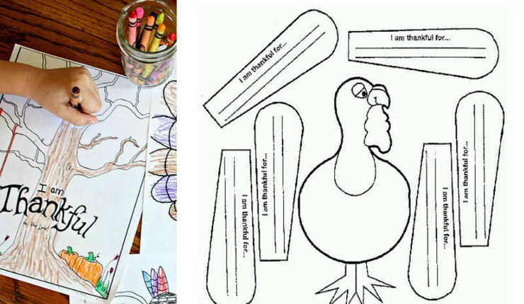 graphic about Printable Thanksgiving Activity referred to as 15 Routines for the Young children Desk this Thanksgiving Highlights