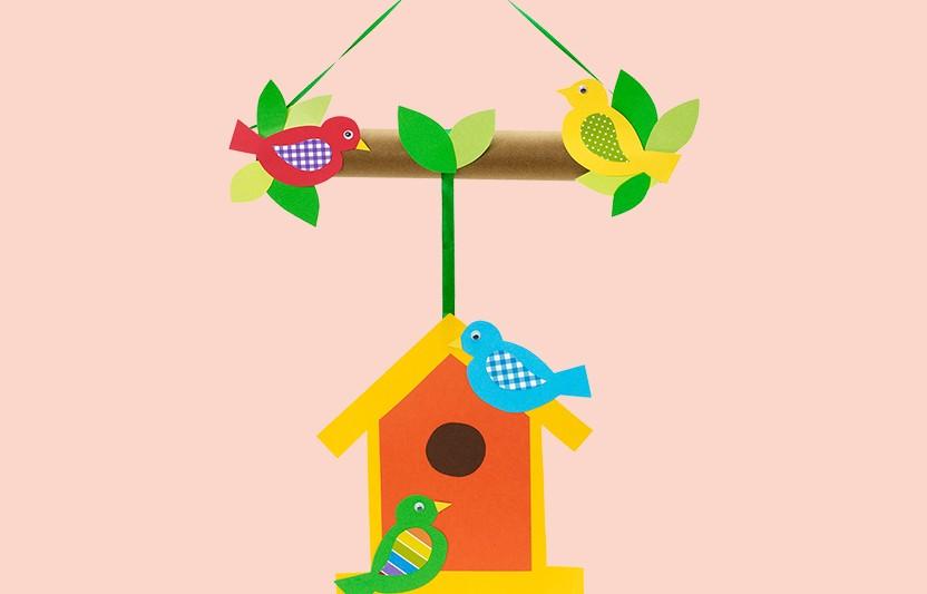 Birdhouse Mobile