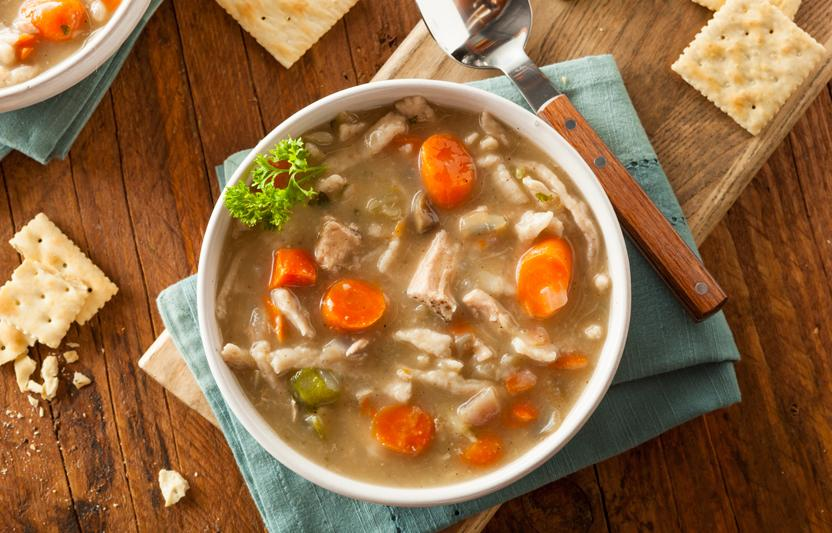 Carrot and Chicken Soup